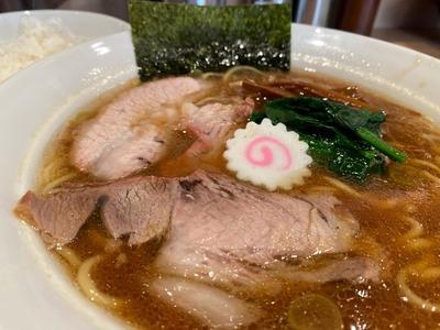 20/01/21生姜醤油ラーメン長岡食堂 05
