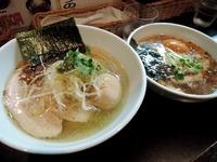 15/02/27麺や勝治 味玉入り青唐辛痛麺 2
