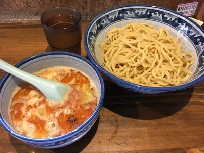 17/06/13麺や樽座子安町店 味噌つけ麺 01