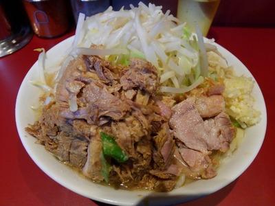 16/01/26ラーメン二郎荻窪店 小ブタ(ニンニク)05