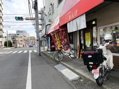 19/02/25らーめんれんげ 鶏白湯らーめん+ミニカレー丼02