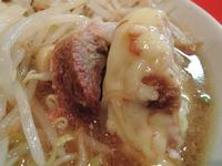 14/12/17二郎府中 小ラーメン+チーズ