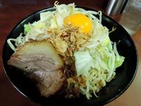 15/03/27め二郎 小汁なし(ニンニク、カラメ)3