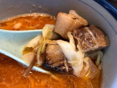 19/08/02麺や樽座子安町店 味噌つけ麺 06