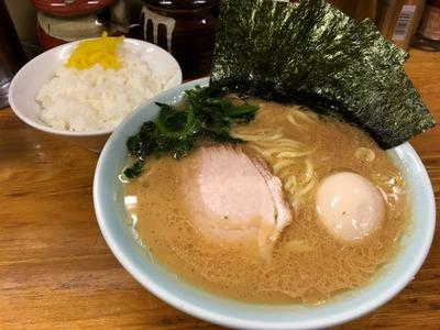 17/02/01髙根家 ラーメン+味玉 03