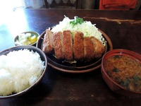 15/02/16レストラン エデン 上とんかつ定食1