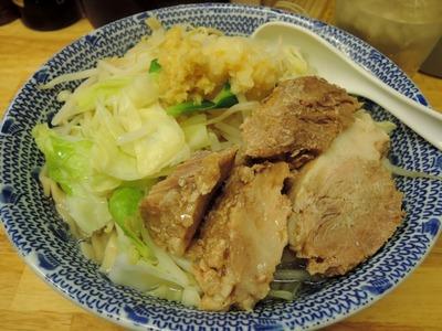 14/12/03らーめんきじとら らーめん(ニンニク、生姜)10