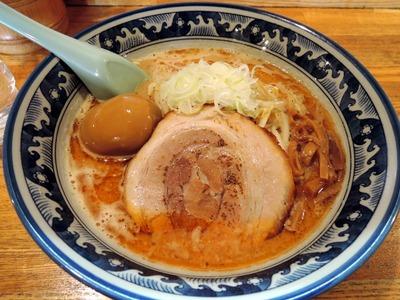 14/09/19麺や樽座小宮店 味噌ラーメン+味玉1