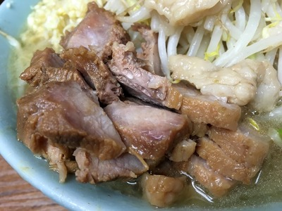 17/03/15池二郎 豚入りラーメン(全マシ)13