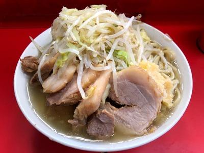 19/01/07 二郎三田本店 ぶたラーメン 10