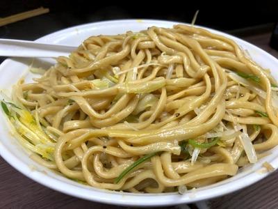 19/01/22 関二郎大汁なし+ネギ+粉チーズ10