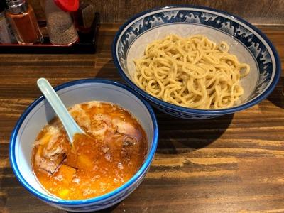 19/08/02麺や樽座子安町店 味噌つけ麺 03