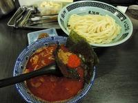 14/07/08節の一分 大勝軒魚介辛み味噌つけ麺+節玉 2