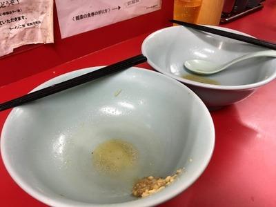 17/10/23ラーメン二郎新宿歌舞伎町店 13