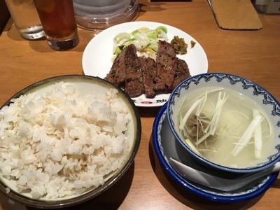 16/08/17味の牛たん喜助横浜ランドマークタワー店 03