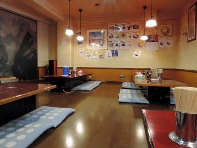 14/09/15横浜敦煌 坦々麺(5めちゃ)+半バター 2