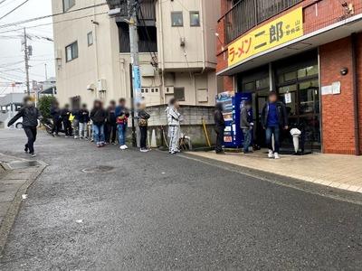 20/02/16ラーメン二郎中山駅前店07