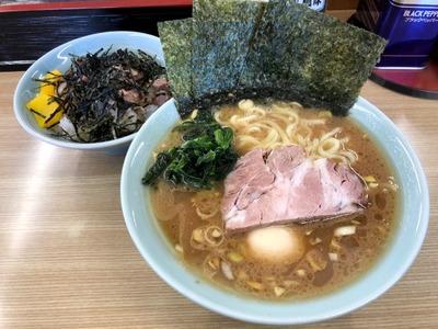 19/01/11奥津家 並玉子(好み普通)+まかない丼 01