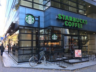 スターバックスコーヒー新横浜店 外観