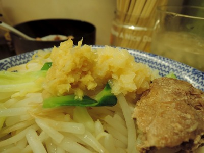 14/12/03らーめんきじとら らーめん(ニンニク、生姜)12