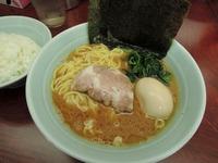 14/09/18横浜ラーメン武蔵家菊名店 味玉ラーメン並 1