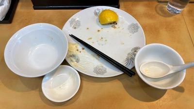 21/01/25中華料理大進亭 鳥から揚げ定食(大盛)10