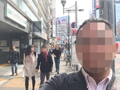 17/03/25二郎新宿小滝橋通り店小ラーメン(ニンニク)01