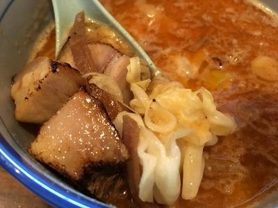 17/06/13麺や樽座子安町店 味噌つけ麺 04