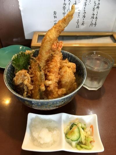 17/06/22天丼の岩松 海鮮丼 03