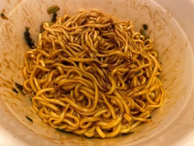 20/05/04マルちゃん正麺汁なし黒マー油担々麺 14
