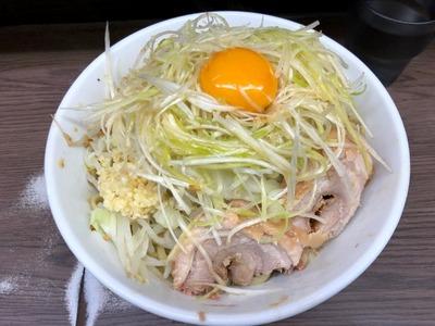 19/11/12 関二郎小汁なし+ネギ 05