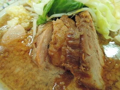 14/07/29 ぶた入り小つけ麺(ニンニク、ヤサイ)5