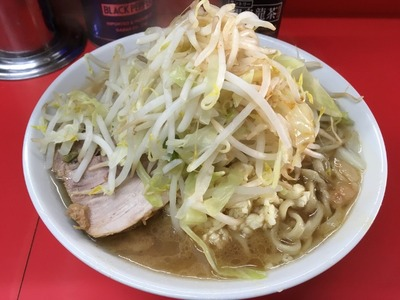 17/01/25ラーメン二郎松戸駅前店 09