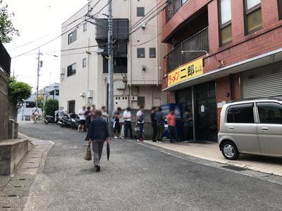 19/06/21ラーメン二郎中山駅前店02