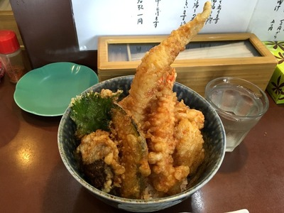 17/06/22天丼の岩松 海鮮丼 04