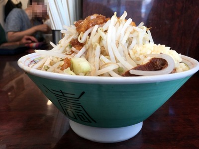17/07/14ラーメン二郎めじろ台店 05
