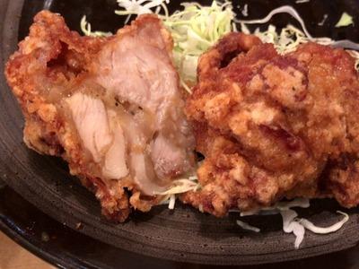 18/01/15とんかつ三田日吉店 鳥からあげ定食 09