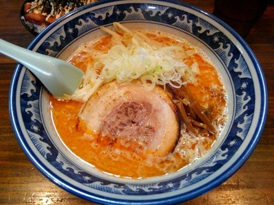 15/09/17麺や 樽座子安町店 えび味噌らーめん 1
