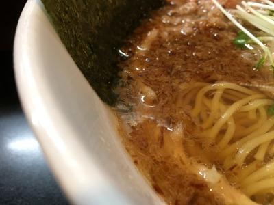 17/09/11麺や勝治 味玉塩らーめん 5