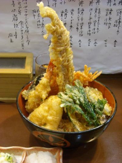 09/07/07天丼の岩松 海鮮丼(大盛)1