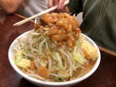 18/10/19ラーメン二郎めじろ台店 09