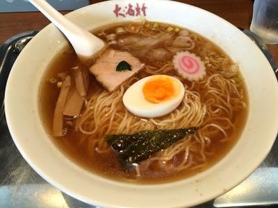 17/09/09大海軒八王子店 ワンタン麺 01