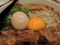 14/10/03徳島中華そば徳福川崎店 肉玉そば6