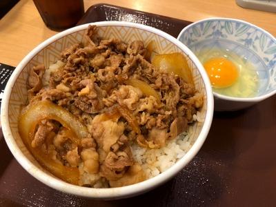 18/10/09すき家みなみ野 牛丼01
