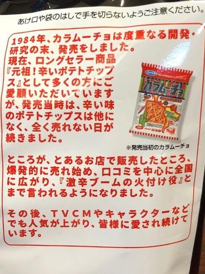 18/03/08コイケヤカラムーチョ辛さ7倍ホットチリ味 02