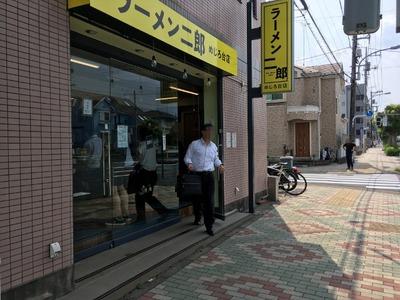 17/08/30ラーメン二郎めじろ台店 08