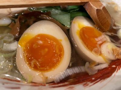 20/09/04らーめん中々(なかなか)鶏らーめん+煮玉子 07