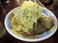 15/03/18め二郎 小つけ麺(ニンニク少なめ、野菜)3