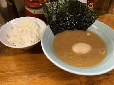 17/02/01髙根家 ラーメン+味玉 07