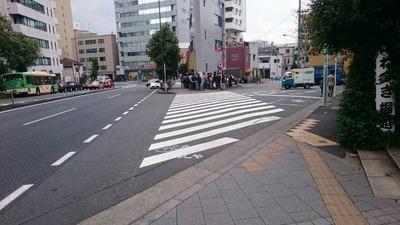 ラーメン二郎三田本店 外観2015
